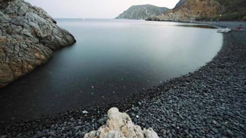 """Νότια Χίος, Παραλία """"Μαύρα Βόλια"""""""