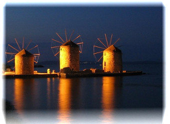 Chios Windmills